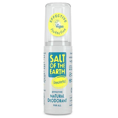 Crystal Spring Salt of the Earth Déodorant Spray Naturel Format Voyage Sans Parfum