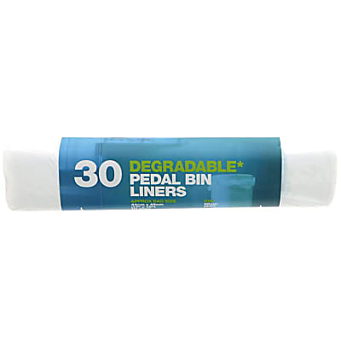D2W - 20 Litres Sacs Dégradables pour Poubelle à Pédale