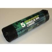 D2W - Sacs Dégradables pour Poubelle à Roulettes