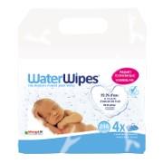 WaterWipes Lingettes pour Bébé (4x60 lingettes)