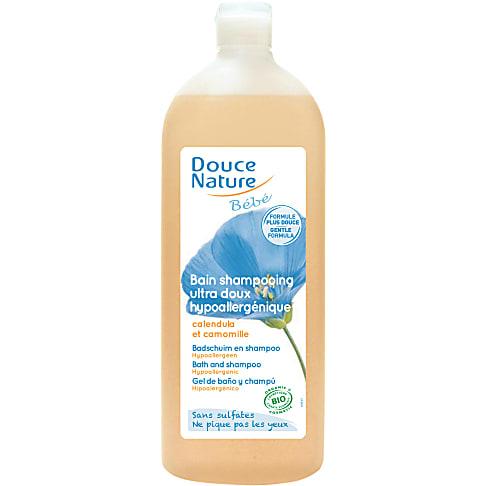 Douce Nature - Bain shampooing bébé - 1l