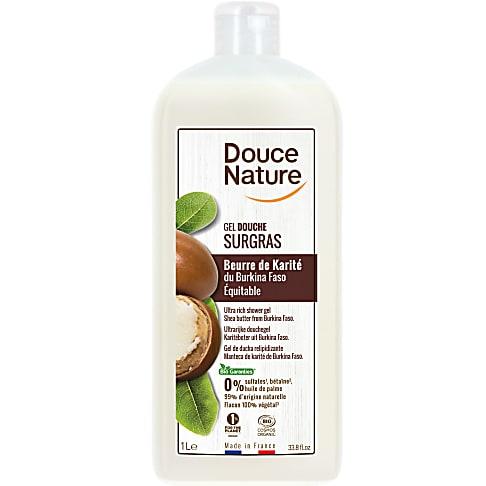 Douce Nature Crème Douche Surgras Nourrissante Huile de Karité 1L