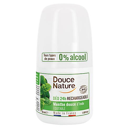 Douce Nature Déodorant Purifiant à la Menthe