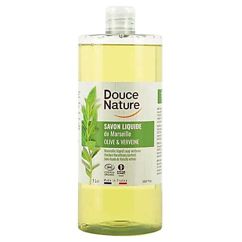 Douce Nature savon Liquide de Marseille à la Verveine (1L)