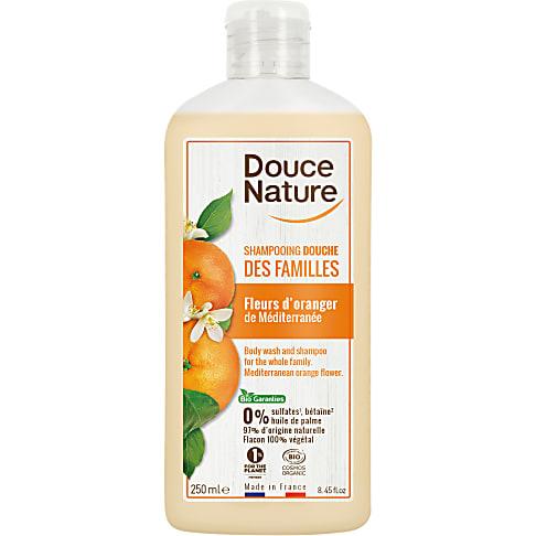 Douce Nature Shampooing Douche Familial au Fleur d'Oranger