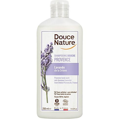 Douce Nature Shampooing Douche Familial à la Lavande (250 ml)