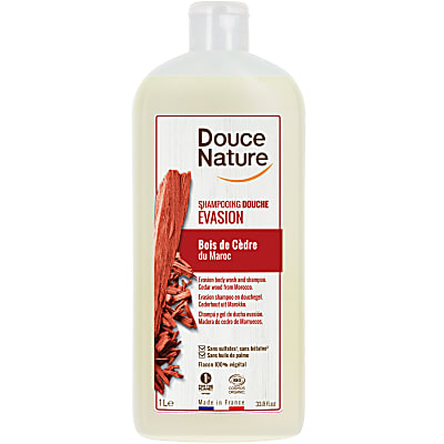 Douce Nature - Shampoing Douche Relaxant Santal