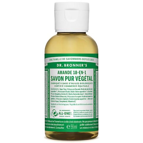 Dr. Bronner's - Savon Liquide de Castille - Amande - 59ml
