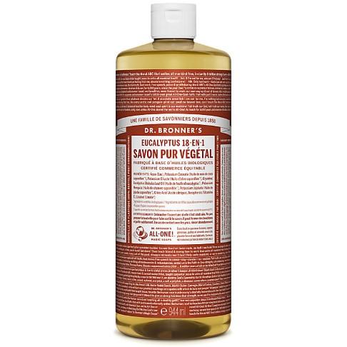 Dr. Bronner's - Savon Liquide de Castille - Eucalyptus - 946ml