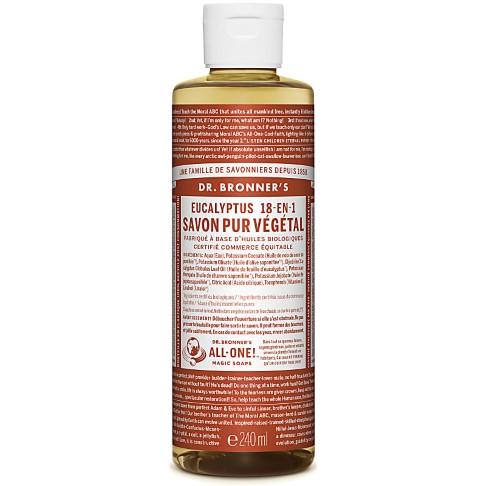 Dr. Bronner's - Savon Liquide de Castille - Eucalyptus - 236ml