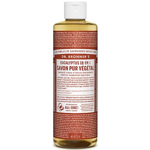 Dr. Bronner's - Savon Liquide de Castille - Eucalyptus - 472ml
