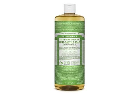 Dr. Bronner's - Savon Liquide de Castille - Thé Vert - 946ml