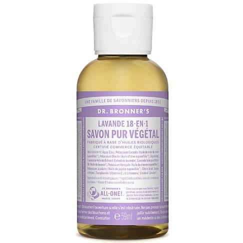 Dr. Bronner's - Savon Liquide de Castille - Lavande - 59ml