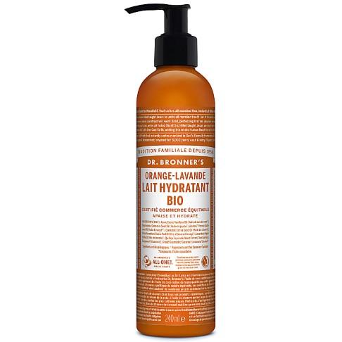 Dr. Bronner's - Lotion Hydratante - Orange et Lavande