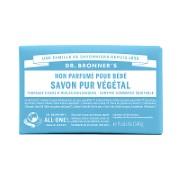 Dr. Bronner's - Savon Solide de Castille pour Bébés - Sans parfum