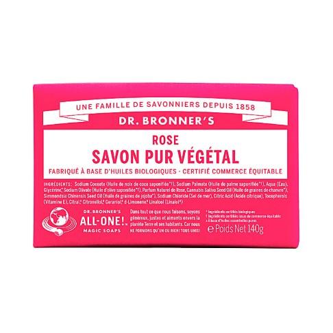 Dr. Bronner's - Savon Solide de Castille - Rose
