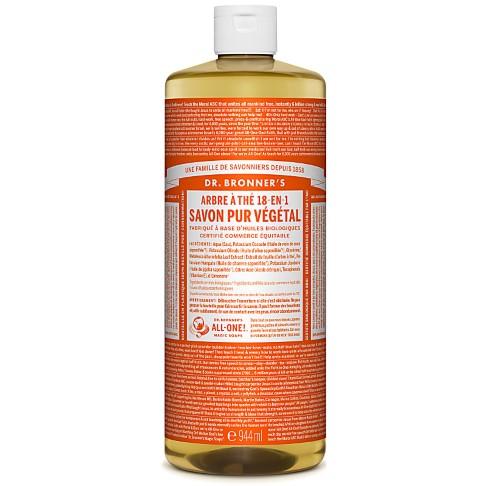 Dr. Bronner's - Savon Liquide de Castille - Arbre à thé - 946ml