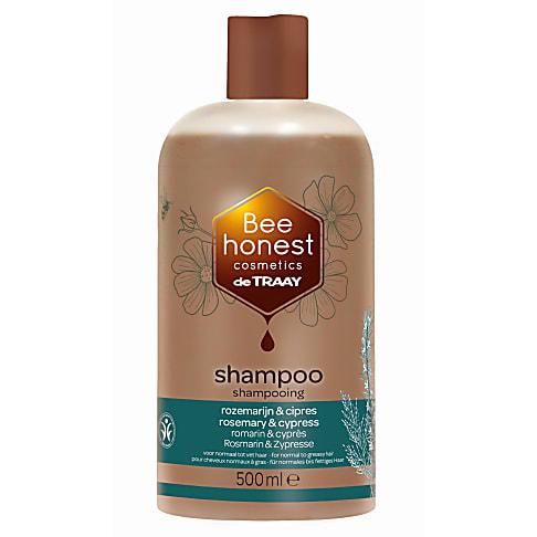 De Traay - Shampoing Cheveux Normaux à Gras - Romarin Cyprès - 500 ml