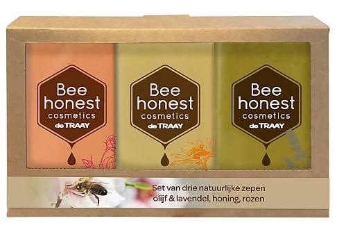 De Traay Bee Honest Savons Coffret Cadeau