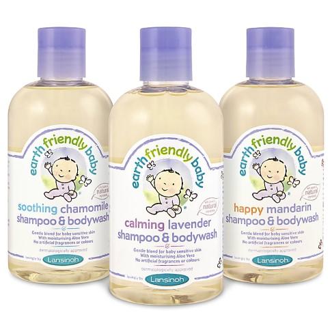 Earth Friendly Baby - Shampoing Gel Douche Bébé