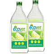 Ecover Liquide Vaisselle Citron & Aloe Vera (950ml) PACK DUO