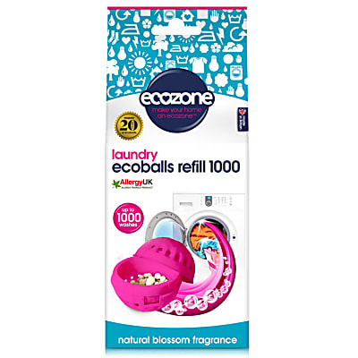 Ecozone Ecoballs Recharge 1000 Lavages - Natural Blossom
