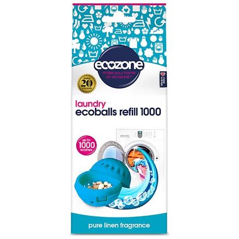 Ecozone Ecoballs Recharge 1000 Lavages - Pure Linen