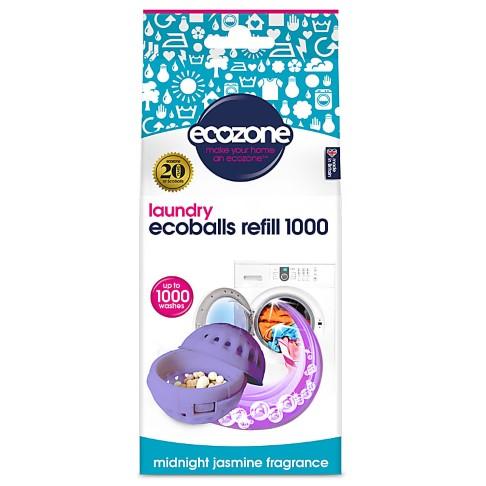 Ecozone Ecoballs Recharge 1000 Lavages - Midnight Jasmine