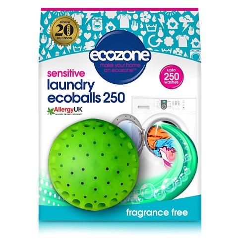 Ecozone Ecoballs 250 Lavages - Sans Parfum