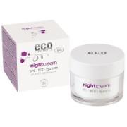Eco Cosmetics Crème de Nuit OPC, Q10 & Acide Hyaluronique
