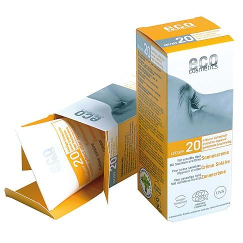 Eco Cosmetics - Crème Solaire - Indice 20