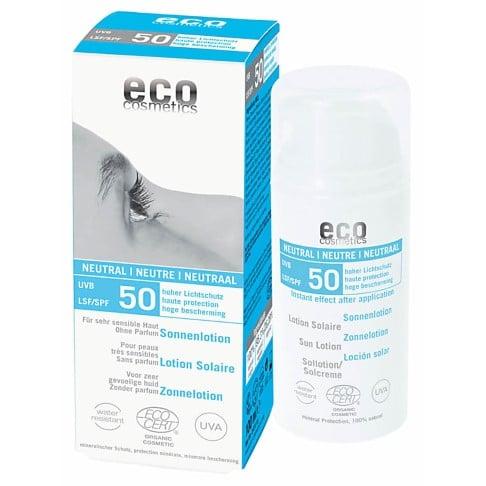 Eco Cosmetics Lotion Solaire Sans Parfum Indice 50