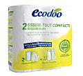 Ecodoo Essuie-Tout Compact (2 rouleaux)