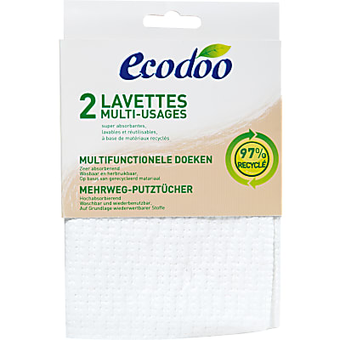 Ecodoo Lavettes Multi Usage