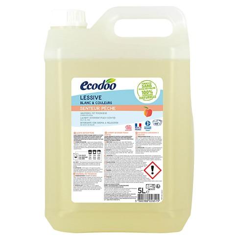 Ecodoo Lessive Liquide Concentrée Pêche 5L