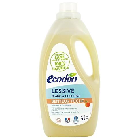 Ecodoo Lessive Liquide Concentrée Pêche