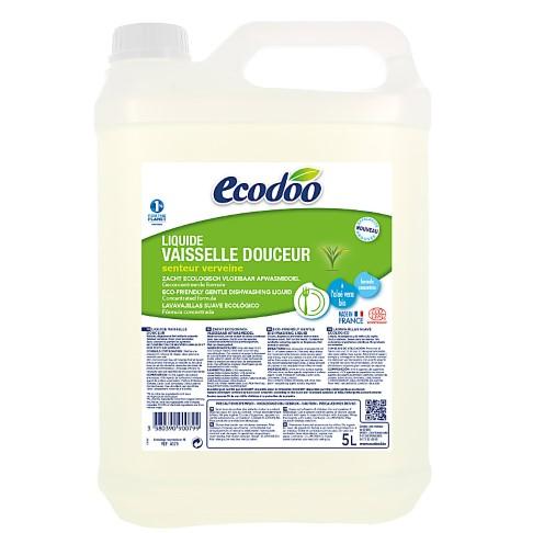 Ecodoo Liquide Vaisselle Douceur Recharge 5L (formule améliorée ! )