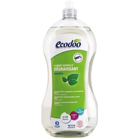 Ecodoo Liquide Vaisselle Dégraissant à la Menthe 1L (formule améliorée ! )