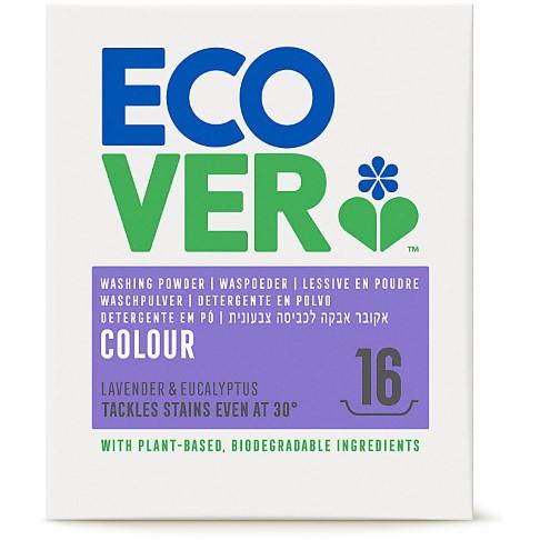 Ecover - Lessive poudre Couleurs vives 1,2 kg