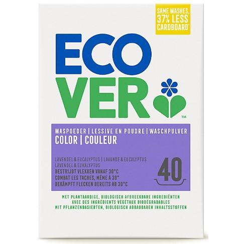 Ecover - Lessive poudre Couleurs vives 3 kg