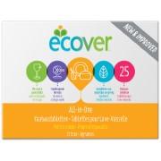Ecover - Tablettes pour Lave-Vaisselle Tout-en-Un (25 tablettes)