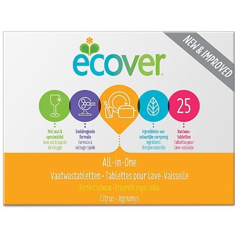 Ecover - Tablettes pour Lave-Vaisselle Tout-en-Un (22 tablettes)
