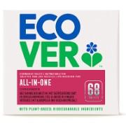 Ecover - Tablettes pour Lave-Vaisselle Tout-en-Un (68 tablettes)