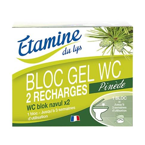 Etamine Du Lys Bloc Gel WC - Recharge x2