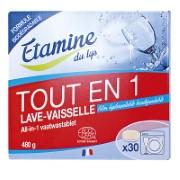 Etamine Du Lys Tablettes Lave-Vaisselle Tout-en-Un (30 tablettes)