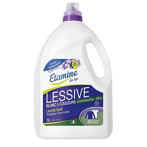 Etamine Du Lys Lessive Liquide au Lavandin 3L