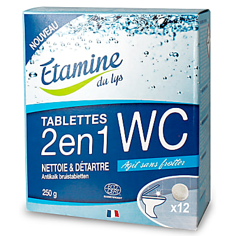 Etamine du Lys Tablettes WC 2-en-1