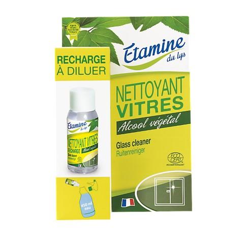 Etamine du Lys Nettoyant Vitres - Recharge à Diluer
