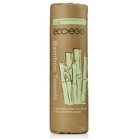 Eco Egg Serviettes Réutilisables en Bambou (jusqu'à 1700 fois)