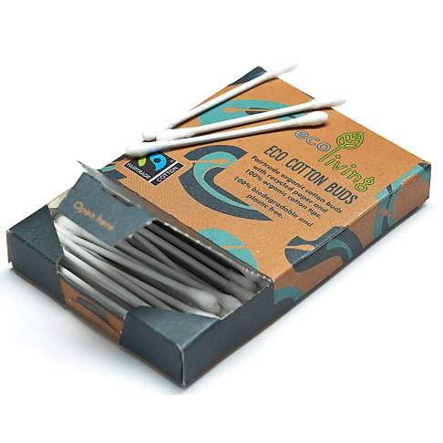 Eco Living Cotons-Tiges Biologique & Fairtraide